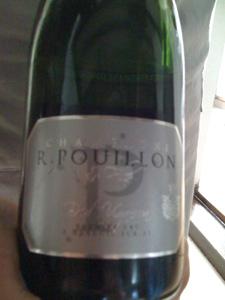 Champagne Pouillon 1ère bouteille