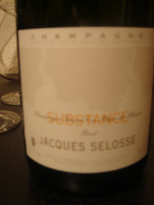 Champagne Substance de Jacques Selosse