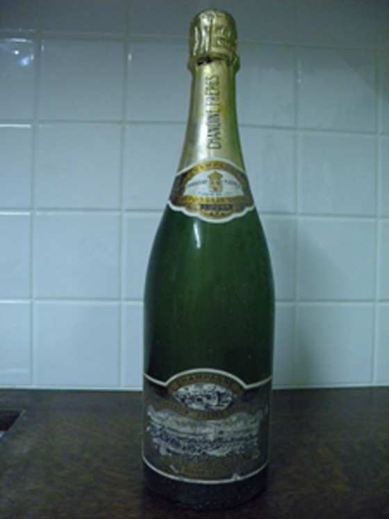 Champagne brut Chanoine Frères Ludes cuvée Marie Leczinska 1973 bis