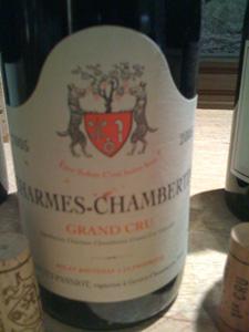 Charmes-Chambertin Grand Cru 2005 de Geantet-pansiot