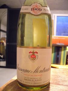 Chassagne-Montrachet 1969 de Moillard