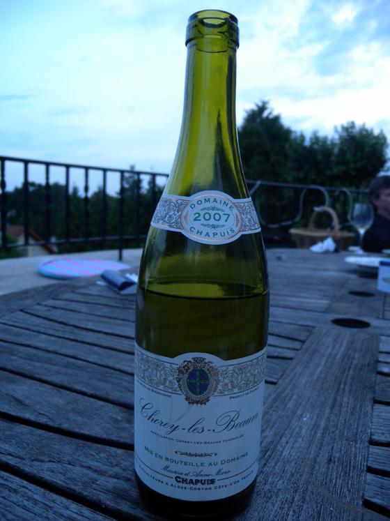 Chorey-les-Beaune  2007 de Maurice et Anne-Marie Chapuis