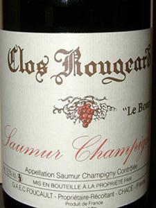 Clos Rougeard Le Bourg 2004