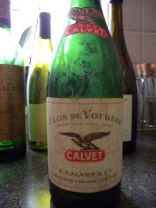 Clos Vougeot Calvet 1959