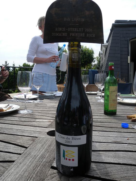 Clos de Bèze 2003 du domaine Prieuré-Roch