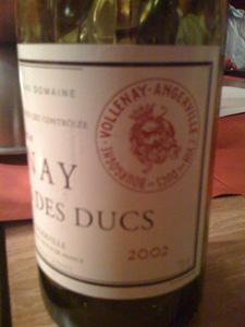 Clos des Ducs 2002