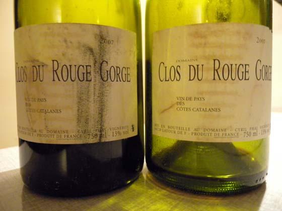 Clos du Rouge Gorge 2007