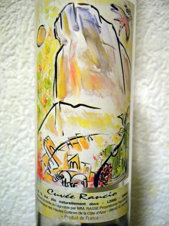 Cuvée Rancio 2000 de la Famille Rasse