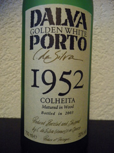 Dalva Golden White colheita 1952 (bottled in 2003)