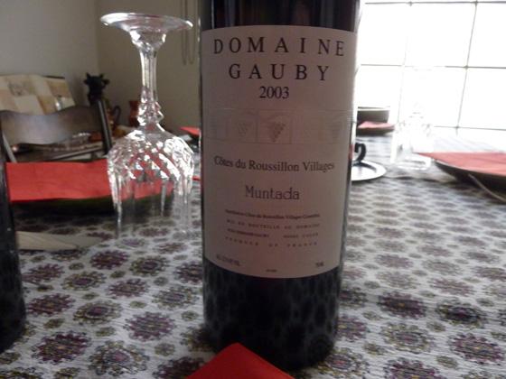 Domaine Gauby la Muntada 2003