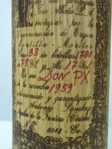 Don Px 1959 Bodegas Toro Alba étiquette