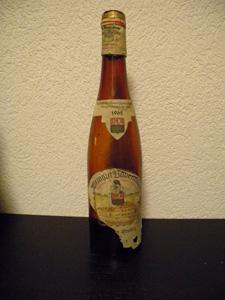 Eiswein  Steinberg 1962 de Weingut