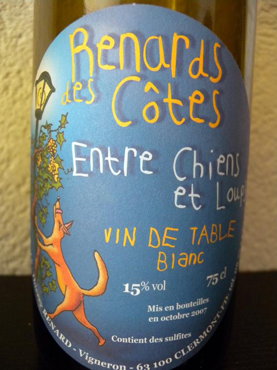 Entre chiens et loups 2007 Renard des Côtes