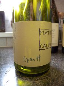 Green H de Matin Calme 2006