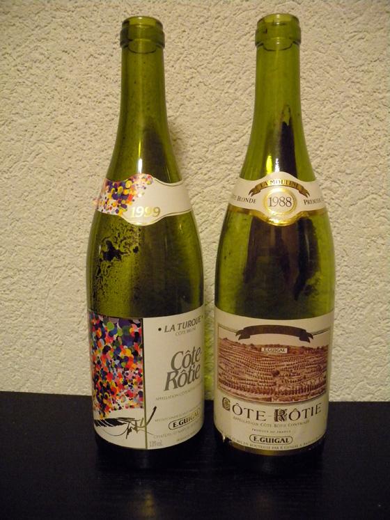 Guigal La Turque1999 et La Mouline1988