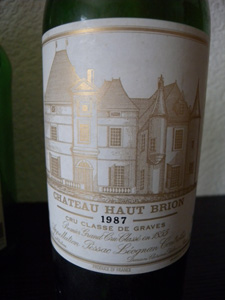 Haut Brion 1987