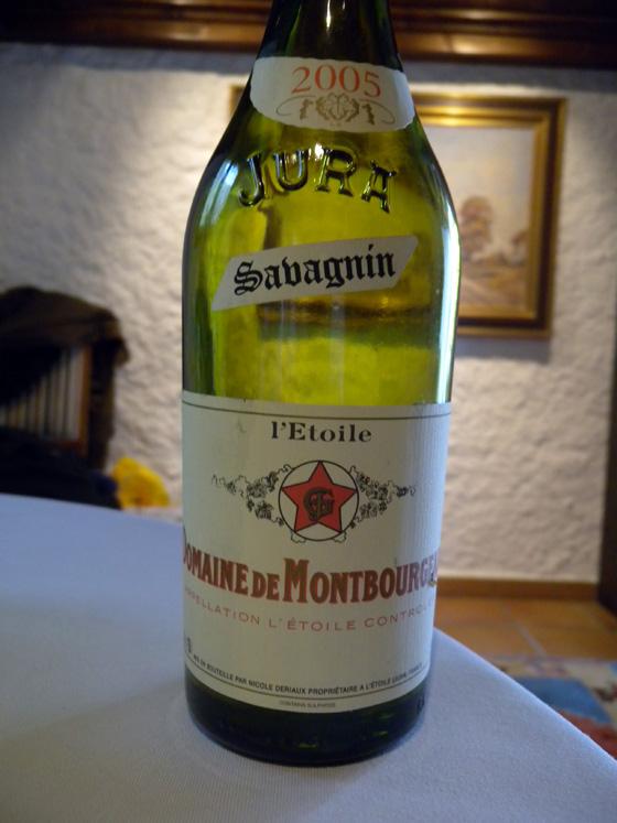 L'Etoile jaune 2005 du Domaine de Montbourgeau