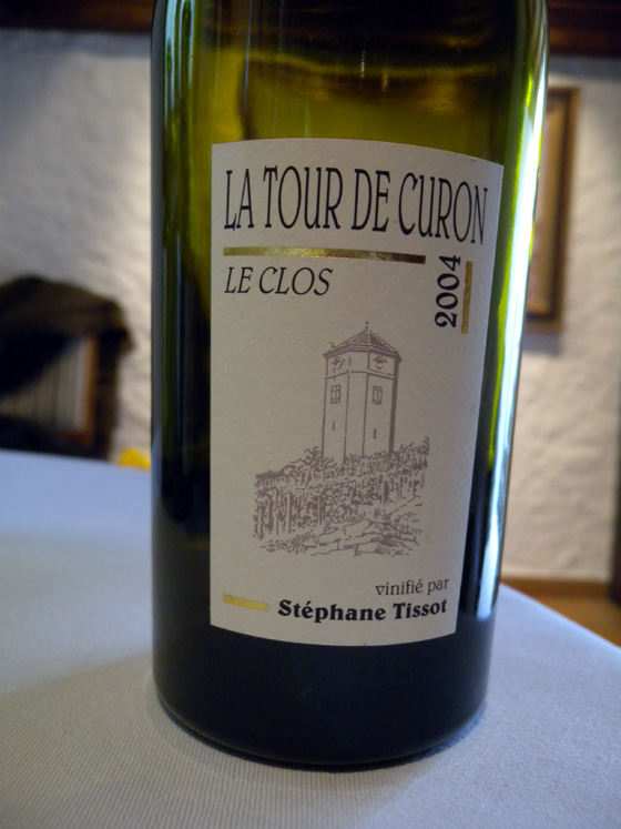 La Tour de Curon le Clos 2004 de Stéphane Tissot