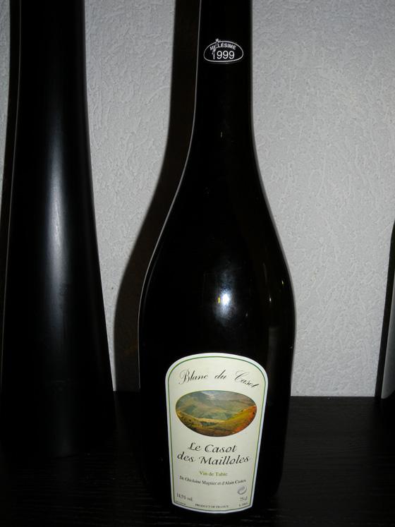 Le Casot des Maillolles Blanc du Casot 1999