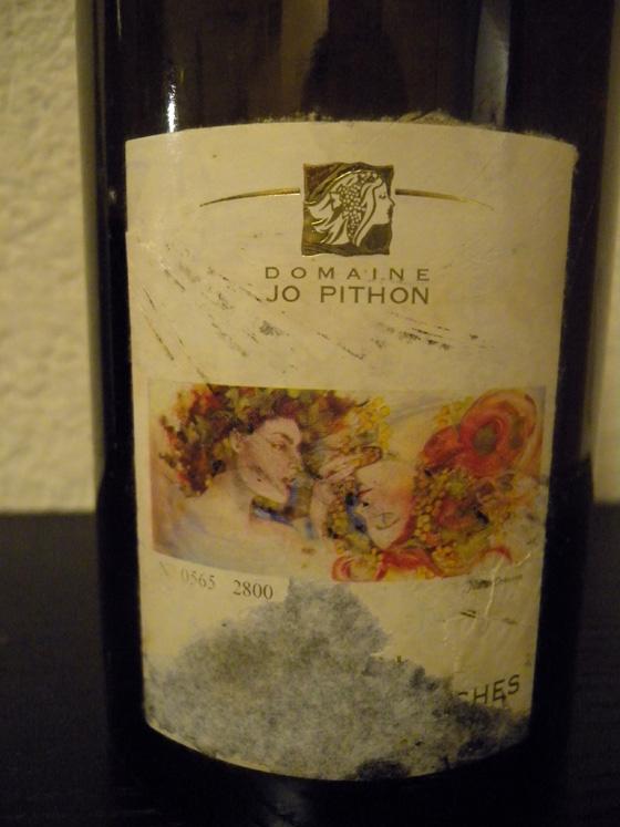 Les Bonnes Blanches 2002 du Domaine Jo Pithon