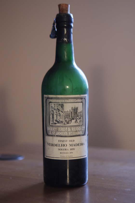 Madeira Verdelho Solera 1851 Berry Bros & Rudd Ltd