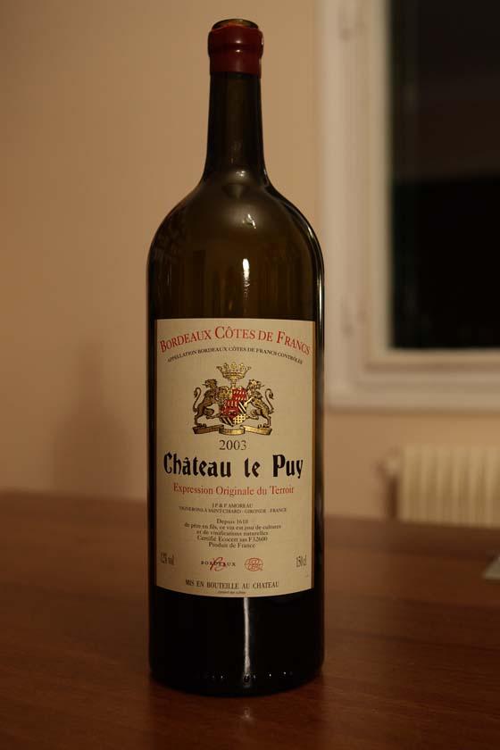 Magnum Château Le Puy 2003
