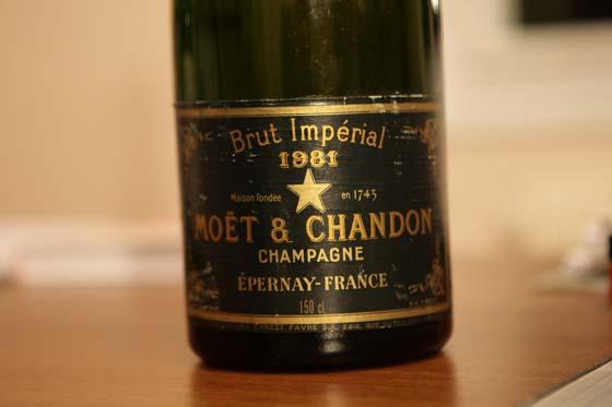 Magnum Moët & Chandon Impérial 1981