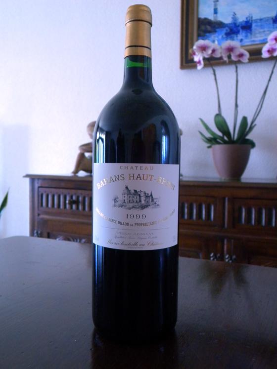 Magnum de Château Bahans Haut-Brion 1999