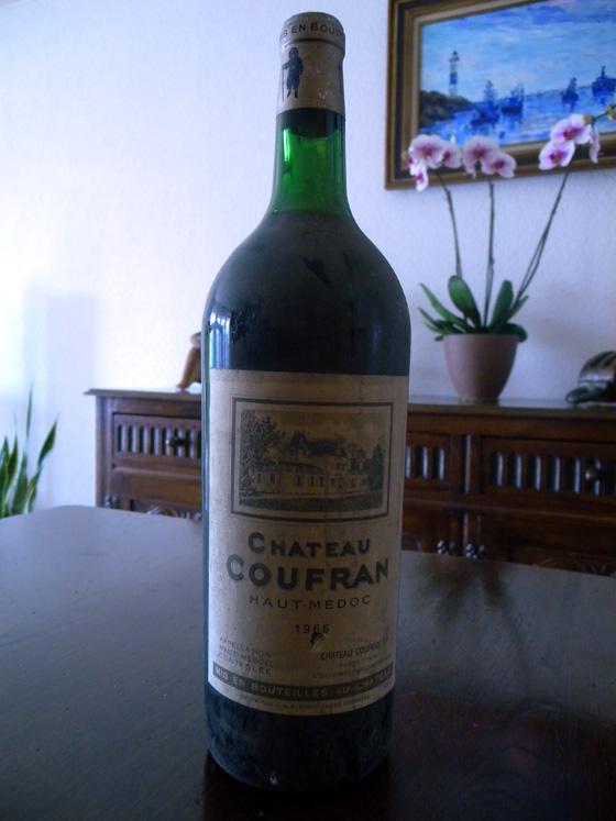 Magnum de Château Coufran 1966