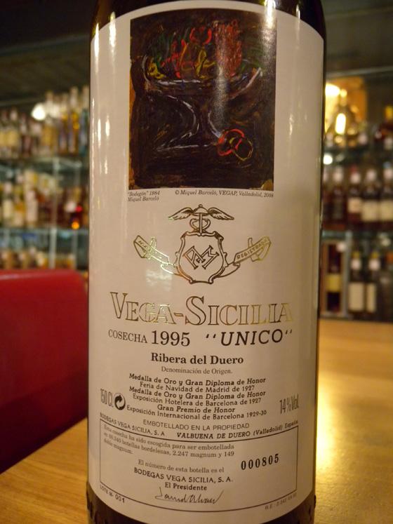 Magnum de Vega Sicilia Unico 1995
