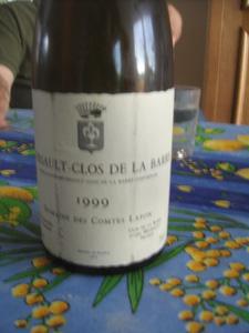 Meursault Clos de la Barre 1990