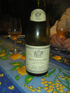 Montrachet 1989 Louis jadot
