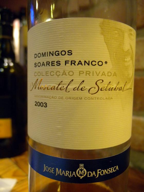 Moscatel Soares Franco 2003