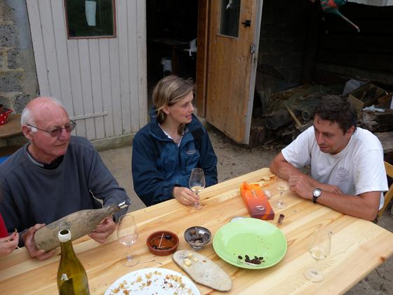Pierre, andréa et Emmanuel