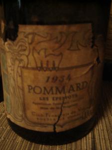 Pommard Les Epenots 1934