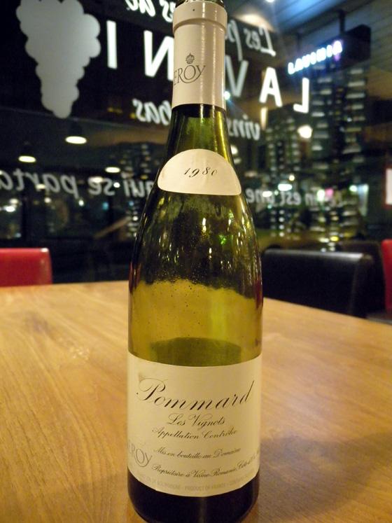 Pommard Les Vignots 1980 - Maison Leroy