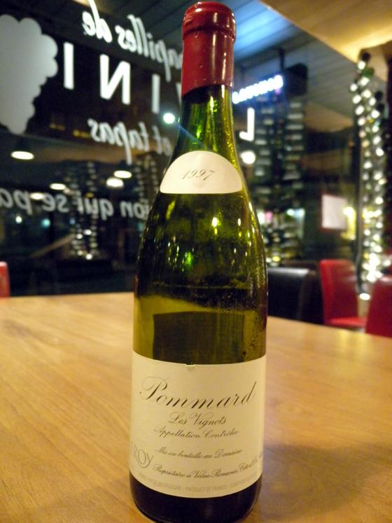 Pommard Les Vignots 1997 - Domaine Leroy