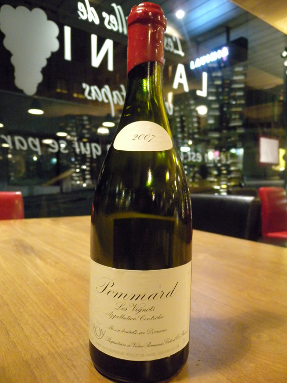 Pommard Les Vignots 2007 - Domaine Leroy