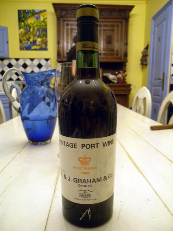 Porto Graham finest reserve 1943