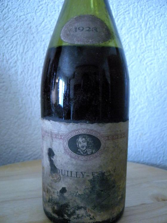 Pouilly-Fuissé 1928 Abel Porte