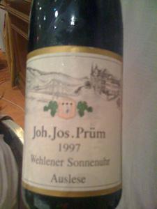 Riesling Auslese GK31 1997 de JJ Prüm