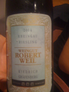 Riesling Erstes Gewächs 2004 de Robert Weil