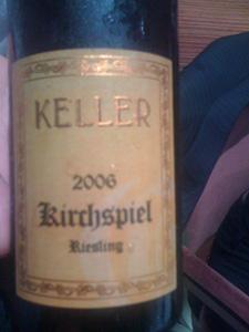 Riesling Grosses Gewächs 2006 de Keller