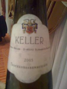 Riesling TBA 2005 de Keller