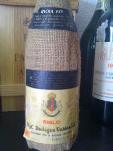 Rioja Siglo 1971 de Fuenmayor