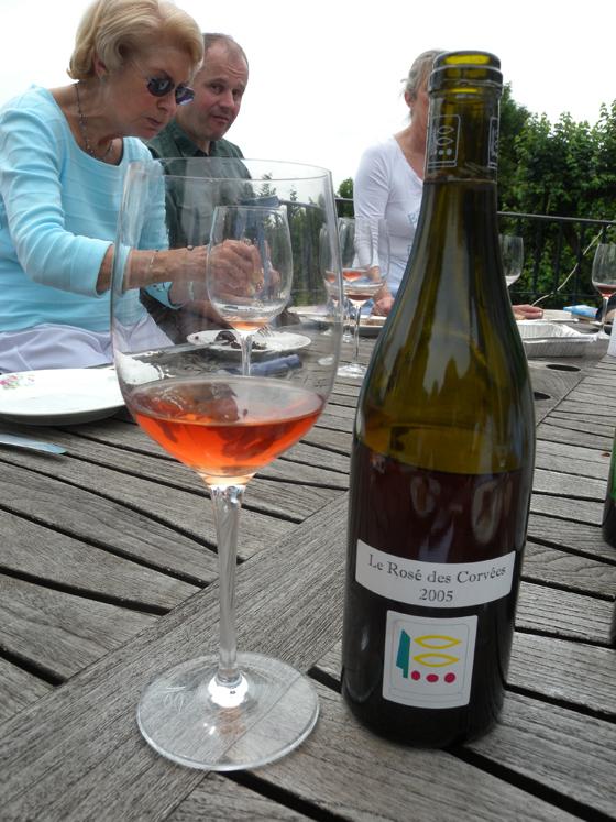 Rosé des Corvées 2005 du Domaine Prieuré-Roch