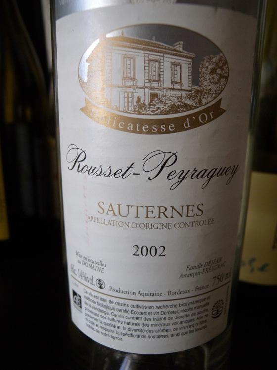 Rousset-Peyraguey 2002