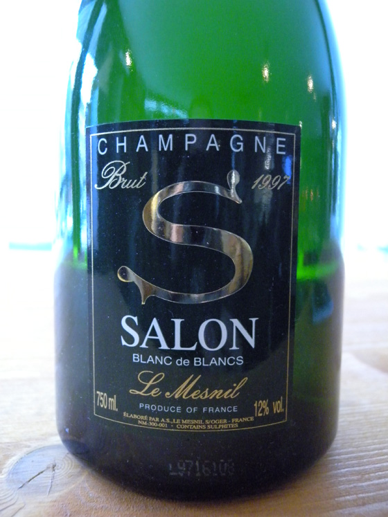 Soir e grands champagnes serial bottler for 1997 champagne salon