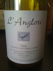 Tavel l'Anglore 2007 d'Eric Pfifferling