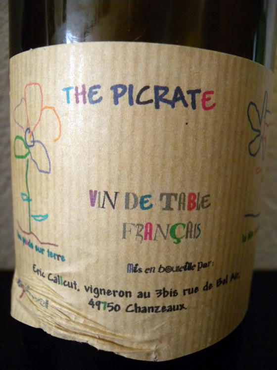The Picrate Les Paradis 1998 d'Eric Calcutt